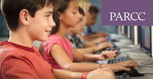 Students taking PARCC assessment
